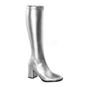 Shoes - Gogo High Heel Knee High Boots Cosplay Festival